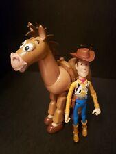 Disney Pixar Toy Story Articulated Bullsey & Woody Figure
