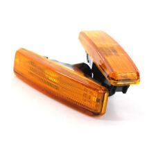 Fender Side Marker Light Amber Signal Lamp Shell For BMW E39 5-Series E39 97-03