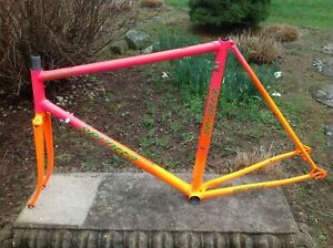 Serotta Colorado II 55cm Frame and Fork Columbus Nivacrom Swaged Tubes Campy DOs