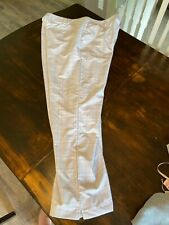 Men's Under Armour Golf Pants Flex Comfort Waist Size 42 x 32 White