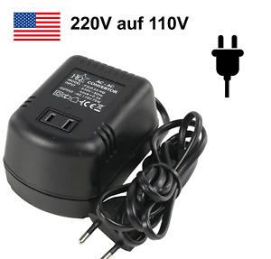 Spannungswandler 230V auf 110V max. 75W EU USA Amerika Stromwandler Wandlertrafo