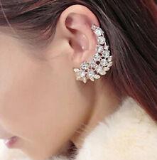 1PC New Fashion Elegant Vintage Punk Gothic Crystal Rhinestone Ear Cuff Wrap