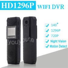 140° 1296P WIFI Spy USB Pen Hidden Camera Voice Recorder IR Camcorder DVR HDCams