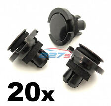 20x Side Skirt / Sill Moulding Cover / Rocker moulding Trim Clips for Subaru