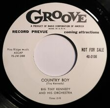 "45Re✦BIG TINY KENNEDY✦ ""Country Boy / I Need A Good Woman"" 2Sider Rockin' Blues♫"