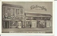 Cavanaghs Restaurant 23rd Street Lumitone New York City Postcard