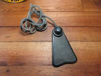 Art Deco Bakelite Industrial Fischer Foot Pedal Switch Steampunk Repurpose