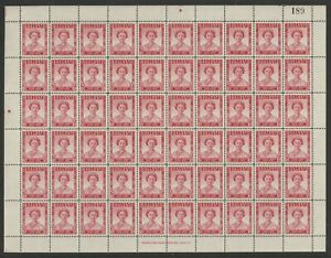 SOUTHERN RHODESIA 1947 VICTORY PEACE 1d Full Sheet of 60 NHM VERY FINE+
