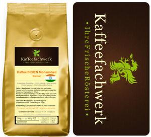 Kaffee Indien Monsooned Malabar ➤Monsunkaffee frisch geröstet vom Kaffeefachwerk
