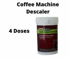 Descaling Coffee Machine Cleaner Descaler Powder 100gms Pod & Espresso machines