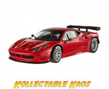 Ferrari 458 ITALIA Gt2 Plain Body Version Red 1 18 Hotwheels Heritage Bcj77