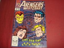 AVENGERS WEST COAST #58  Marvel Comics VF/NM 1991