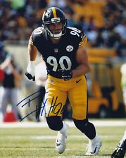 TJ WATT SIGNED AUTOGRAPHED 8X10 PHOTO PITTSBURGH STEELERS