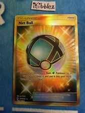 Secret Rare SM8 Lost Thunder 234//214 Pokemon TCG Trainer Card Net Ball