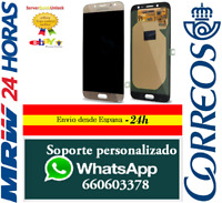 Pantalla Completa para Samsung Galaxy J7 2017 J730 J730F Dorada Tactil + LCD Oro