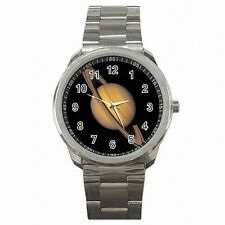 Saturn Space Planet Astronomy Astronomer Stainless Watch