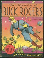 BUCK ROGERS Rare 1934 BLB #4057 BIG BIG BOOK Adv's on Planetoid Eros HC Whitman