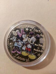 Mickey + Minnie Mouse 1OZ Silber New Zealand