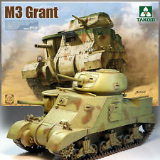 TAKOM 1/35 M3 GRANT BRITISH MEDIUM TANK KIT 2086