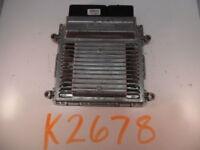 11 12 13 KIA FORTE COMPUTER BRAIN ENGINE CONTROL ECU ECM EBX MODULE K2678