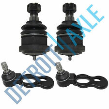 4pc Kit: New Front Upper and Lower Ball Joints for 1995-2002 Crown Victoria