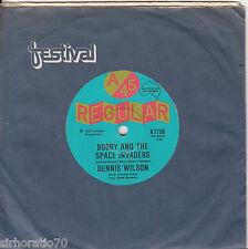 DENNIS WILSON Bobby & The Space Invaders / Runaway OZ 45 - Kahvas Jute