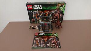Lego star wars Rancor pit Réf.75005 et Jabba's Palace Réf.9516