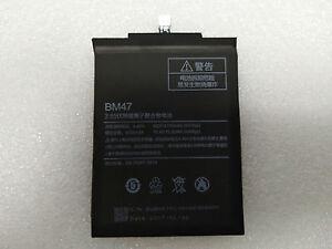 1pcs New Battery For Xiaomi Redmi 3 3S 3X Redmi3 Pro Hongmi BM47 4000mAh