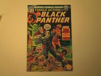 1978 JUNGLE ACTION # 9 BLACK PANTHER IN VERY GOOD + CONDITION WITH BARON MACABRE