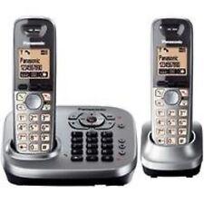 Panasonic KX-TG 6562 TWIN CORDLESS PHONE WITH ANSWERING MACHINE