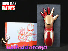 1:1 Iron Man Mk42 Arm Laser Device+Palm Light Special Light+Sound Effect Props