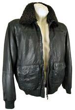 Cappotti e giacche da uomo Bomber, Harrington verde con cerniera