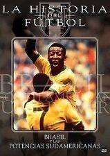 La Historia del Futbol: Brasil y Las Potencias Sudamericanas - LikeNew  - DVD