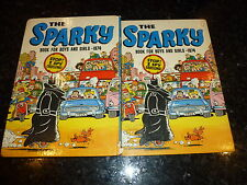 SPARKY Comic Annual - Year 1974 - UK Annual - Price Ticket Intact