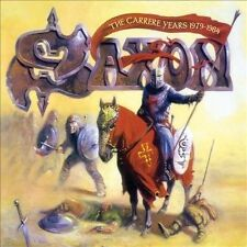 The Carrere Years (1979-1984) [Box] by Saxon (CD, Apr-2012, 4 Discs, EMI Music Distribution)