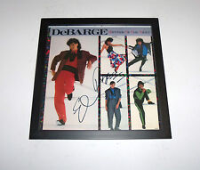 Rhythm Of The Night DEBARGE Signed Autographed FRAMED LP Record Album COA