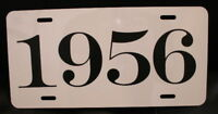 1956 LICENSE PLATE FITS CHEVY FORD PLYMOUTH OLDSMOBILE PACKARD CORVETTE DESOTO