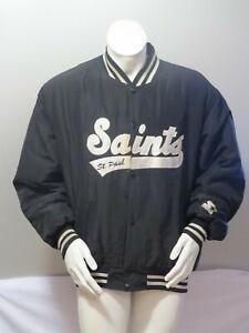 Saint Paul Saints Jacket - Puffer Script by Starter - Men's Extra Large