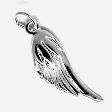 Angel Wing Pendant Charm STERLING SILVER