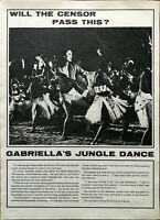 Gabriella Licudi The Last Safari Gabriella's Jungle Dance Vintage Article 1967