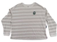 Old Navy Women's Long Sleeve The Easy Tee T-Shirt Striped Size L