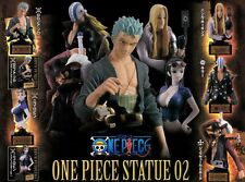 Capsule One Piece Statue 02 From Japan 7 Pics Full Set