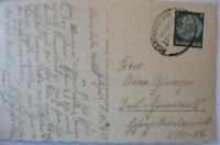 Railway post Office Great Cross Lehnin, Ak Monastery Lehnin 1935 (36966)
