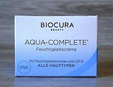 Biocura Beauty Aqua-complete Feuchtigkeitscreme 50ml