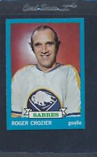 1973/74 Topps #108 Roger Crozier Sabres NM *313