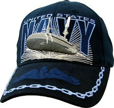 U.S. Navy Submarine Hat / USN Dark Navy Baseball Cap 5881