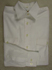 Super LE FROG Langarm  Hemd,  Baumwolle  weiß  KW 37/38 Gr.52