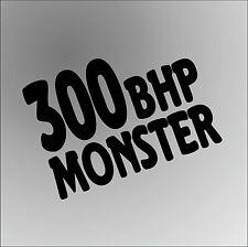 300 BHP FORD FOCUS ST Funny Rude Car Window Bumper Graphic Vinyl Decal Sticker