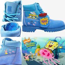 🌟Timberland SpongeBob 6 Inch Premium Waterproof Boot 🌟Size 2Y  💯 Authentic