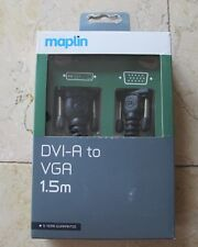 DVI-A to VGA Cable1.5m - NEW